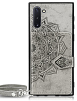 cheap -Case For Samsung Galaxy Note 9 / Note 8 / Samsung Note 10 Wallet / Card Holder / Pattern Back Cover Flower Oxford Cloth