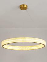 cheap -QIHengZhaoMing 60 cm Circle Design Pendant Light Metal Electroplated LED 110-120V 220-240V
