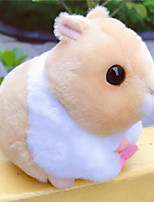 cheap -Stuffed Animal Educational Toy Plush Doll Plush Toys Plush Dolls Stuffed Animal Plush Toy Cartoon Hamster Plush Imaginative Play, Stocking, Great Birthday Gifts Party Favor Supplies Boys and Girls