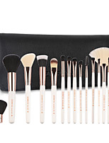 cheap -Professional Makeup Brushes 15pcs Soft Wooden / Bamboo for Foundation Brush Eyeshadow Brush Makeup Brush Set