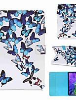 cheap -Case For Apple iPad Pro 11''(2020) / iPad 2019 10.2 / Ipad air3 10.5' 2019 Wallet / Card Holder / with Stand Full Body Cases Butterfly PU Leather / TPU for iPad Air / iPad 4/3/2 / iPad (2018)