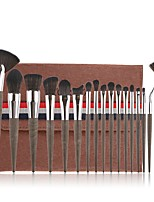 cheap -Professional Makeup Brushes 18pcs Soft Artificial Fibre Brush Plastic for Foundation Brush Eyeshadow Brush Makeup Brush Set