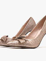 cheap -Women's Heels Spring / Summer Stiletto Heel Pointed Toe Daily PU Pink / Silver