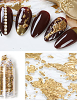 cheap -1 pcs Universal / Creative / Durable Gold Sequins For Finger Nail Creative nail art Manicure Pedicure Party / Evening / Daily / Festival Trendy / Fashion