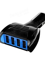 cheap -Four USB Interfaces Car Charger 5V 3.1A Charging For Iphone Ipad And 3C Devices