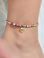 cheap -Anklet Classic Trendy Lolita Women's Body Jewelry For Gift Holiday Geometrical Alloy Taj Mahal Precious Gold