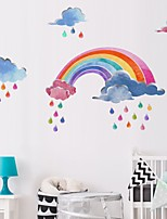 cheap -Wall Stickers Plane Wall Stickers Decorative Wall Stickers, PVC Home Decoration Wall Decal Wall Decoration 1pc