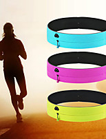 cheap -Running Belt Fanny Pack Belt Pouch / Belt Bag for Running Hiking Outdoor Exercise Traveling Sports Bag Reflective Adjustable Waterproof Polyester Men's Women's Running Bag Adults
