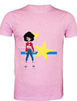 cheap -Inspired by steven universe Cosplay Costume T-shirt Polyster Print Printing T-shirt For Men's