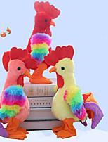 cheap -1 pcs Electronic Pets Stuffed Animal Plush Doll Talking Stuffed Animals Plush Toy Plush Toys Plush Dolls Chicken Cartoon Parent-Child Interaction PP+ABS Plush Imaginative Play, Stocking, Great / Kids