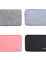 cheap -11.6 12 13.3 14 15.6 Inch Laptop Sleeve PU Leather Solid Color Fashion for Business Office for Colleages Schools for Travel Waterpoof Shock Proof