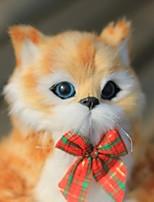 Недорогие -Чучело Плюшевая кукла Игрушка плюша Плюшевые игрушки Плюшевые куклы Мягкие и плюшевые игрушки Кошка Плюш Imaginative Play, чулки, отличные подарки на день рождения Мальчики и девочки Взрослые Дети
