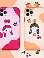 cheap -IMD Cartoon TPU for Apple iPhone Case 11 Pro Max X XR XS Max 8 Plus 7 Plus SE(2020) Protection Cover