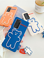 cheap -Cute Dog Phone Case For Huawei P40 Pro case Bear Grip Cover For huawei P30 Pro P40 Pro Mate 30 Pro Stand Holder Socket