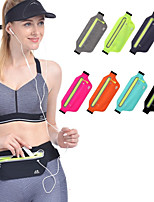 cheap -Running Belt Fanny Pack Belt Pouch / Belt Bag for Running Hiking Outdoor Exercise Traveling Sports Bag Reflective Adjustable Waterproof with Water Bottle Holder Tactel Lycra® Men's Women's Running Bag