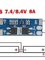 cheap -2s 8a Li-ion 7.4v 8.4v 18650 Bms Pcm 15a Peak Current Battery Protection Board Bms Pcm For Li-ion Lipo Battery Cell Pack Max 15a
