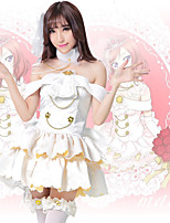 cheap -Inspired by Love Live Anime Cosplay Costumes Japanese Cosplay Suits Dresses Dress Headwear Neckwear For Women's