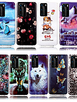 cheap -Case For Huawei Y7 2019 Y6 2019 Phone Case TPU Material Painted Pattern IMD Luminous HD Mobile Phone Case for Huawei Y5 2019 Honor 10 Lite