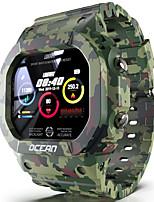Недорогие -Ocean Универсальные Смарт Часы Android iOS Bluetooth Водонепроницаемый Сенсорный экран Спорт Медобеспечение Информация ЭКГ + PPG Таймер Педометр Напоминание о звонке Датчик для отслеживания сна