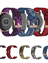 cheap -18MM Watch Band for for Garmin Vivoactive 4S Vivomove 3S Sport Band Nylon Wrist Strap