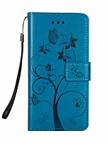 cheap -Case For Samsung Galaxy Galaxy S10 / Galaxy S10 Plus Wallet / Flip Full Body Cases Tree PU Leather for Samsung S10 Plus