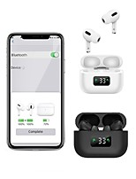 cheap -LITBest i58 TWS True Wireless Earbuds Bluetooth 5.0 Stereo with Microphone Charging Box Auto Pairing LED Power Display for Travel Entertainment