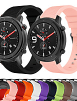 cheap -Sport Silicone Wrist Strap Watch Band for Huami Amazfit GTR 47mm / GTR 42mm / Stratos 3 / Stratos 2 2S / GTS / Bip lite / Pace Replaceable Bracelet Wristband
