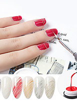 cheap -Nail Polish UV Gel  10 ml 1 pcs  Nail Elastic Drawing Glue Metal Paint Glue Phototherapy Glue Stay Wire Glue Diy 10ml