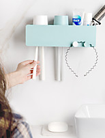 cheap -Creative Gargle Suit Hanging Couples Family Toothbrush Toothbrush Rack Shelf kit Toothbrush Cu Color Random