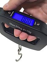 cheap -50Kg 10g LCD Home Electronic Digital Portable Hanging Weight Hook Travel Luggage Scale