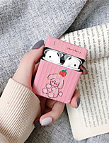 cheap -Hot Angels Teddy Bear Soft silicon Wireless Earphone Charging bag Cover for Apple AirPods 1/2 Bluetooth case Headset coque