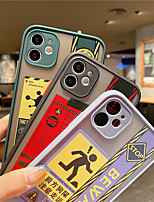 cheap -Hot Polar Lights Stickers Label Case For iphone 11 Pro 11Pro Max X XS XR 7 8 Plus 7Plus Fashion Soft TPU Clear Cover Coque
