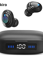 cheap -CARKIRA H01 TWS True Wireless Earbuds Wireless Bluetooth 5.0 Stereo with Microphone with Charging Box Waterproof IPX7 Smart Touch Control for Premium Audio