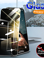 cheap -2pcs Full Cover Private Screen Protector For iPhone 11 / 11 Pro / 11Pro Max /  X  / XS / XS MAX  /XR Antispy Tempered Glass For iPhone SE 2020 / 6Plus / 6 / 7Plus / 7 / 8Plus / 8 Privacy Glass