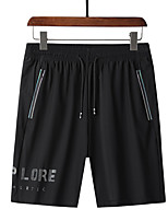 cheap -Men's Hiking Shorts Summer Outdoor Loose Breathable Quick Dry Sweat-wicking Comfortable Cotton Shorts Bottoms Hunting Fishing Climbing Black L XL XXL XXXL 4XL - DZRZVD® / Wear Resistance