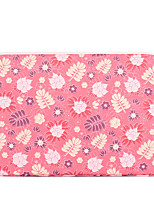 cheap -11.6 12 13.3 14 15.6 Inch Laptop Sleeve Polyester Floral Flower For Women Pink Waterpoof Shock Proof