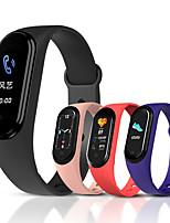 Недорогие -m5 мужчины женщины smartwatch ios bluetooth водонепроницаемый сенсорный экран монитор сердечного ритма измерение артериального давления спорт экг + ppg шагомер сон трекер сидячий напоминание хронограф