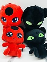 cheap -1 pcs Stuffed Animal Plush Doll Plush Toy Plush Toy Doll Plush Toys Plush Dolls Stuffed Animal Plush Toy Miraculous Ladybug Anime Noir Ladybug Funny Cotton / Polyester Imaginative Play, Stocking