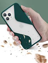 cheap -Case For Apple iPhone 11  iPhone 11 Pro  iPhone 11 Pro Max Translucent Back Cover Geometric Pattern TPU / PC Case For  iphone SE 2020  X XS XR XS Max 8  8Plus 7 7Plus 6 6Plus 6s 6sPlus
