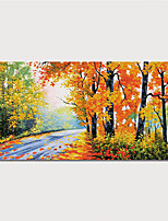 cheap -Hand Painted Canvas Oilpainting Impression Landscape Home Decoration with Frame Painting Ready to Hang