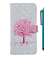 cheap -Case For Samsung Galaxy S20 S20 Plus S20 Ultra Wallet Card Holder with Stand Full Body Cases Pink Tree PU Leather TPU for Galaxy A51 A71 A01 A50(2019) A30S(2019) A70(2019) A20(2019)