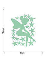 cheap -Luminous Stickers Fairy Stars And Five-pointed Stars Home Background Decoration Removable Stickers