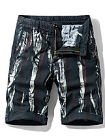 """cheap -Men's Hiking Shorts Camo Summer Outdoor 10"""" Standard Fit Breathable Quick Dry Sweat-wicking Cotton Shorts Bottoms Black Red Army Green Blue Camping / Hiking Hunting Fishing 28 29 30 31 32"""