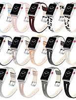 cheap -Genuine Leather Watch Band Strap for Apple Watch Series 5/4/3/2/1 21cm / 8.27 Inches 1.7cm / 0.67 Inches