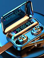 Недорогие -imosi f9-1 tws правда беспроводные наушники с сенсорным управлением bluetoth 5.0 светодиодный аккумулятор дисплей наушников 2000 мАч для мобильных устройств для смартфонов спорт фитнес наушники