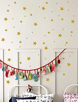 cheap -Stars Wall Stickers Plane Wall Stickers Decorative Wall Stickers PVC Home Decoration Wall Decal Wall Window Decoration 1pc
