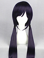 cheap -Cosplay Wig Tojo Nozoimi Love Live Straight Cosplay With 2 Ponytails With Bangs Wig Very Long Purple Synthetic Hair 40 inch Women's Anime Cosplay Lovely Purple