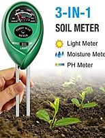 cheap -3-in-1 Soil Tester Kits with MoistureLight and PH Test for Garden Farm Lawn Indoor & Outdoor (No Battery Needed)
