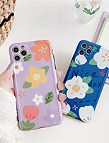 cheap -Lovebay Chrysanthemum Flowers Phone Case For iPhone 11 Pro se 2020 X XR XS Max 7 8 Plus Floral Soft TPU Back Cover