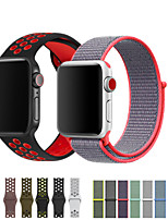 cheap -Watch Band for Apple Watch Series 5/4/3/2/1 Apple Sport Band Silicone / Nylon Wrist Strap  2pcs